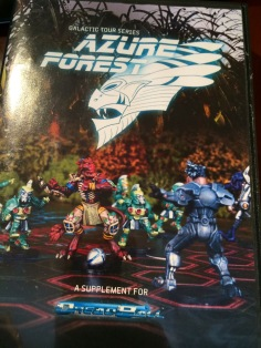 Dreadball Azure Forest
