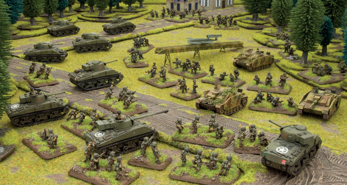 Flames of War: Open Fire – A Review – SILO41