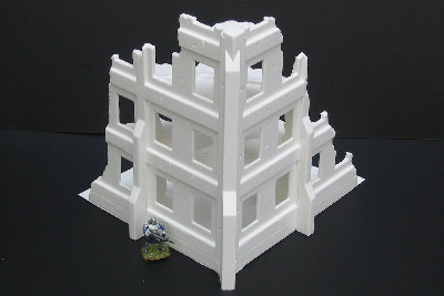City Block Ruin (with Buttresses cut to fit)