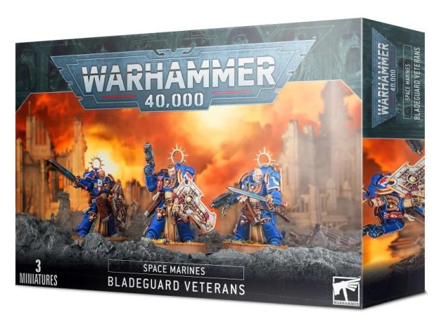 Warhammer 40,000 Space Marine Bladeguard Veterans box